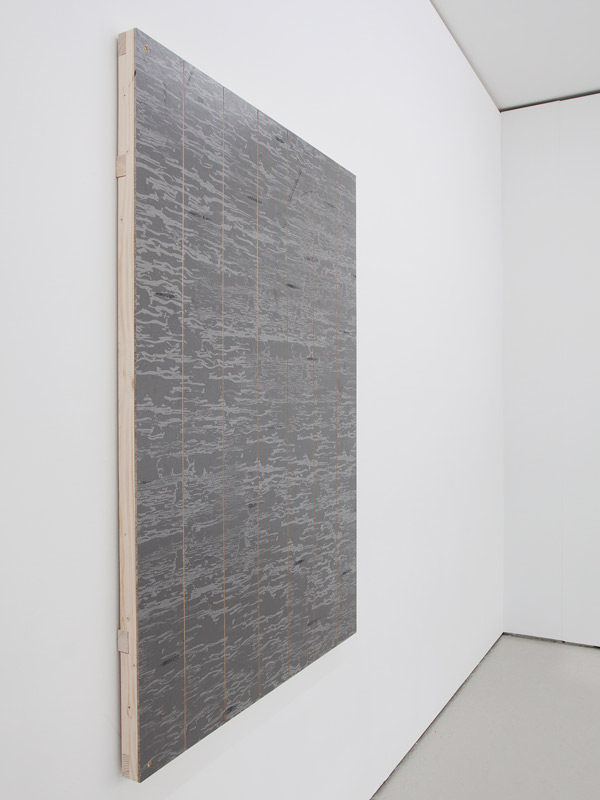 olve-sande-StillerStripePainting_acrylics_on_stage-floor_timber-frame_140x100-1